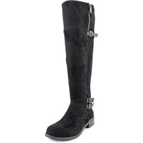 BCBGeneration Krush, Fashion Stiefel Frauen, Pumps rund Black Suede STR/ Silky Le