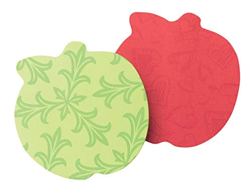 Post-it Super Sticky Die-Cut Notes Apple, 3