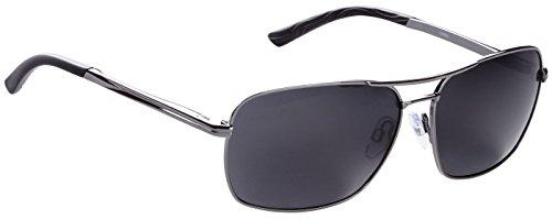 (Fisherman Eyewearfisherman Eyewear - Shiny Gunmetal Frame/Grey Lens,Large,Shiny Gunmetal)