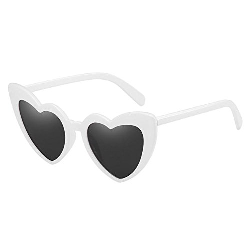 Love forme Classique Glasses Meijunter UV de Heart protectrices Style Protection chat lunettes Blanc Polarisé Lunettes En soleil de Lunettes de Oeil Rétro Élégant TYdwrd1qzn