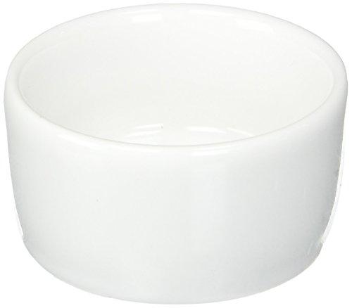 Mini Ramekin - Oneida Foodservice F8000000610 Porcelain Mini Ramekin, 1.75 Oz, Set of 36, Bright Narrow Rim