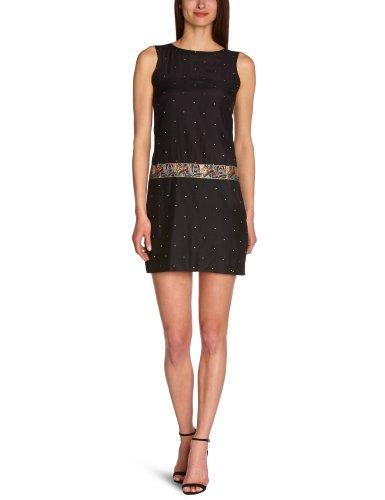 Paris Black Kleid Damen Schwarz Eleven M06 Efhana Women HzqPgwSWx8