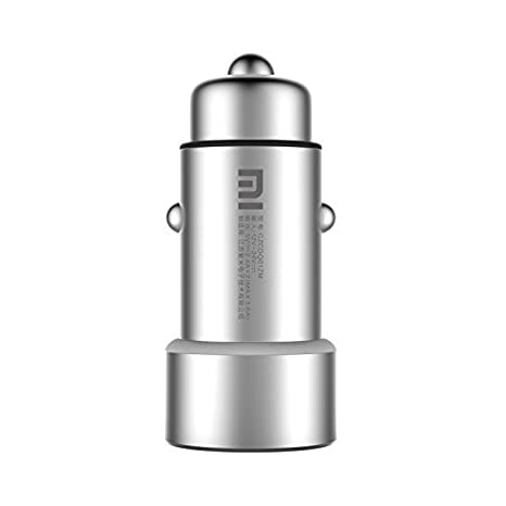 Xiaomi CZCDQ01ZM Auto Plata - Cargador (Auto, Universal, Encendedor de Cigarrillos, Plata, 12-24, 5 V)