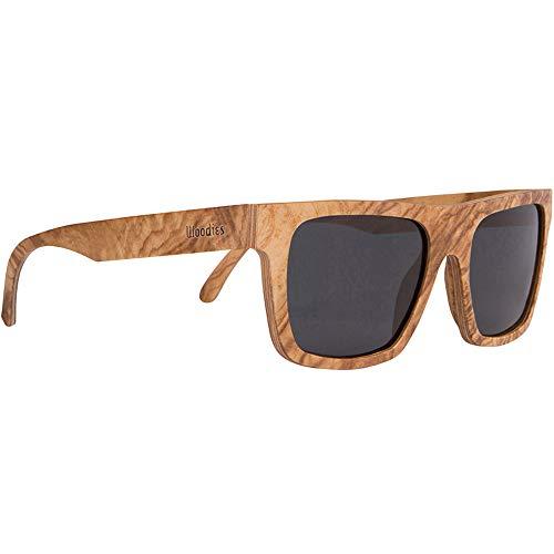 Woodies Burl Wood Sunglasses with Polarized ()
