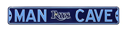 Authentic Street Signs 30225 Tampa Bay Rays Man Cave Street (Authentic Street Signs Tampa Bay)