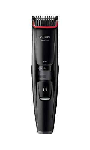 Philips Series 5000 Beard and Stubble Trimmer with Full Metal Blades -...