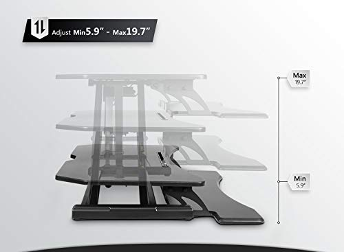 Buy Fezibo Electric Standing Desk Converter At Nerdy