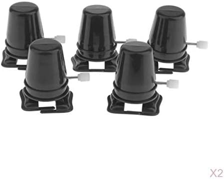 T TOOYFUL 5XクレイDIYハンドフィッティングウォーキングマシンミニウォーキングロボット用ブラック