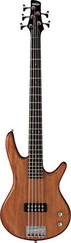 Ibanez 5 String Bass Guitar, Right Handed, Mahogany Oil (GSR105EXMOL)
