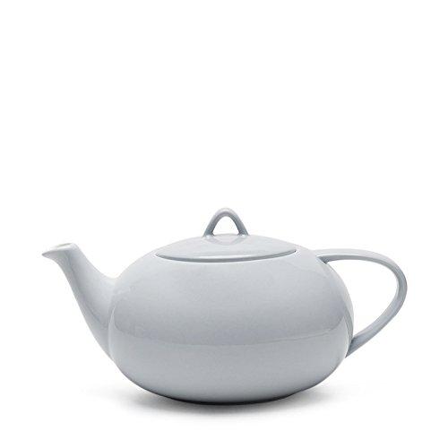Teabox Moonset Teapot - Alice Blue (Fine bone china, Microwave safe, 50.7 fl oz)
