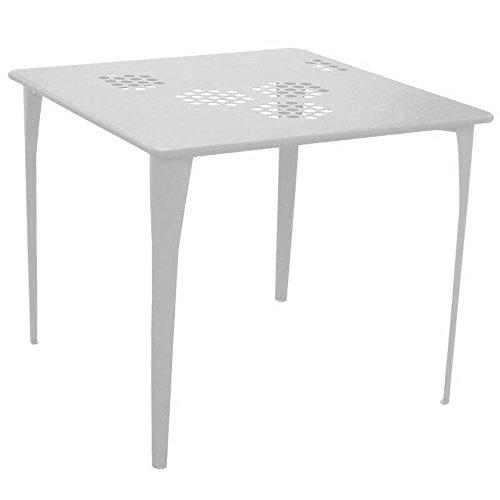Tavoli Da Esterno Emu.Emu 519 Pattern Tavolo Da Giardino 87 X 87 Cm Amazon It Giardino