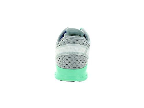Free 5,0 Tr Fit Brthe soar 5, diseño de lobo, color blanco/gris/GRN Glow zapatillas de entraã ® nement 5,5 Us - White/Soar/Wolf Grey/Grn Glow