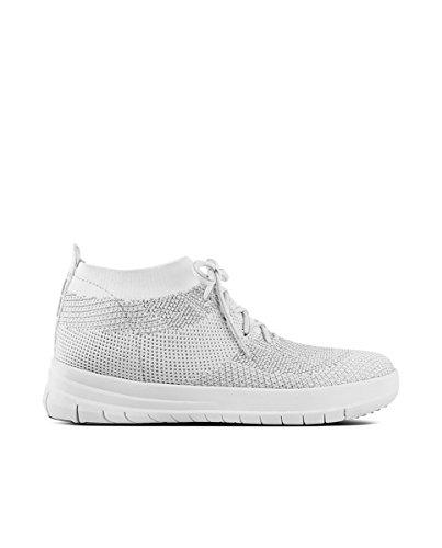 Sneaker Altas Metallic Si Uberknit High para Mujer Fitflop Zapatillas on Top Slip qnXR7xwg6