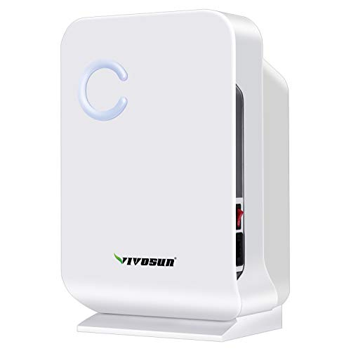 VIVOSUN Small Space Mini Dehumidifier for Grow Tent Closets Bathroom and Basement (Best Things To Grow Hydroponically)