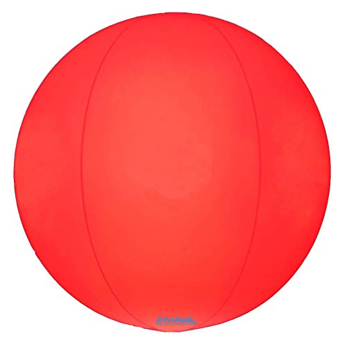 AProFamily Light Up LED Playground Balls Kickball Beach Ball LED Light Waterproof Glow 3 Colors Night Outdoor Activity Pool Camping Decoration Lamp 10