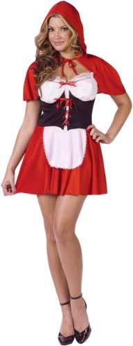 Red Hot Riding Hood Adult Costume Medium/Large (10-14)