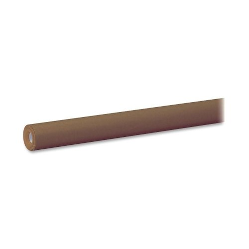 Wholesale CASE of 10 - Pacon Spectra High Qlty Fadeless Art Paper Rolls-Fadeless Art Paper Roll, 48'' x 50', 50 lb., Brown by PAC