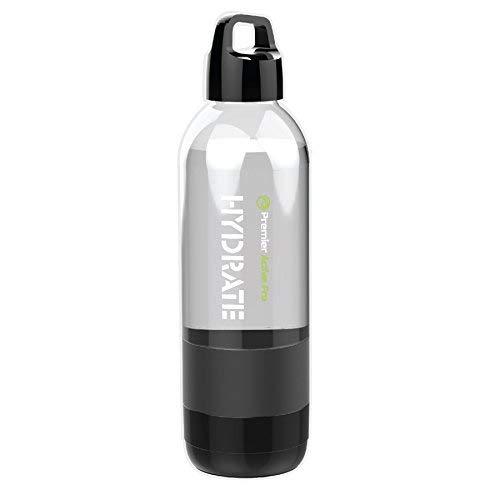 Hydrate 2-in-1 BPA Free Water Bottle Bluetooth Speakers Weatherproof Wireless Speaker 12 oz Gym Water Bottle Camping, Hiking, Jogging, Biking Water Bottle]()