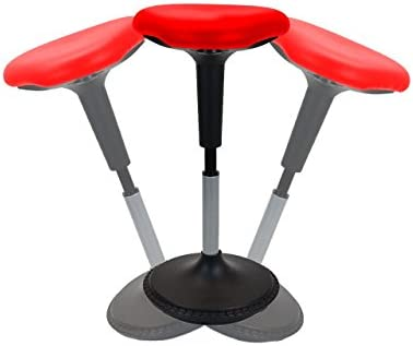 Cool New Wobble Stool Adjustable Height Active Sitting Balance Perching Chair For Office Standing Desk Best Tall Swivel Ergonomic Stability Sit Stand Up Pdpeps Interior Chair Design Pdpepsorg