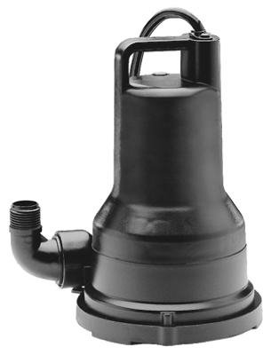 Wayne Water Systems VIP50 Submersible Non-Clogging Votex Design Utility Pump, 1/2-HP