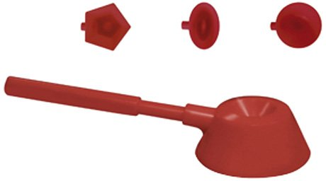 Paderno World Cuisine ABS Plastic Rice Scoop with 3 Attachments 42653-04