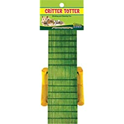 WARE BIRD/SM AN 089549 Critter Totter Small Animal Chew Multicolored, 8X3.75 in