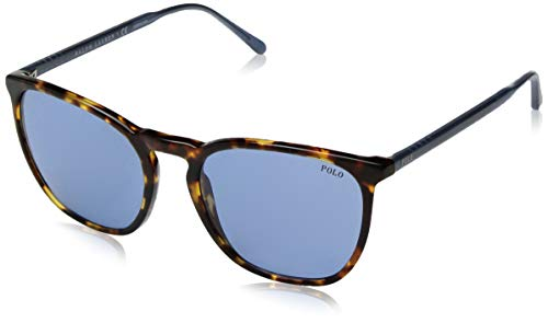 Polo Ralph Lauren Men's 0ph4141 Square Sunglasses, antique tortoise, 54.0 mm ()