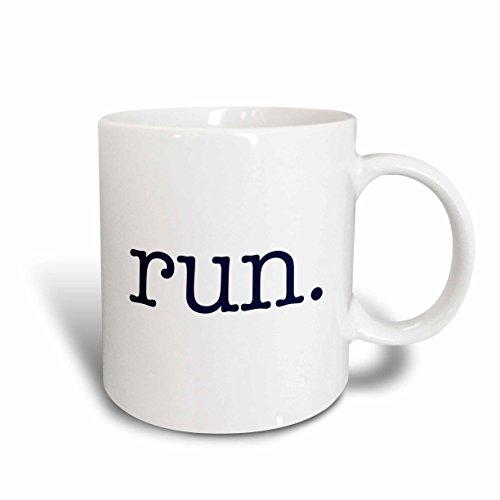 3dRose mug_149840_1 Running Marathon 11 Ounce