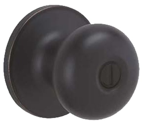 Dexter by Schlage J40STR716 Stratus Bed and Bath Knob, Aged Bronze (Dexter Locks)