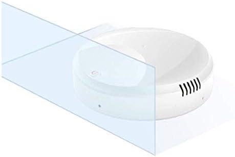 DSGYZQ Robot balayant à la Maison, Cheveux intelligents d\'intérieur de Direction de Changement Automatique futé de poussière enlèvent des Machines de Nettoyage de Plancher,Blanc
