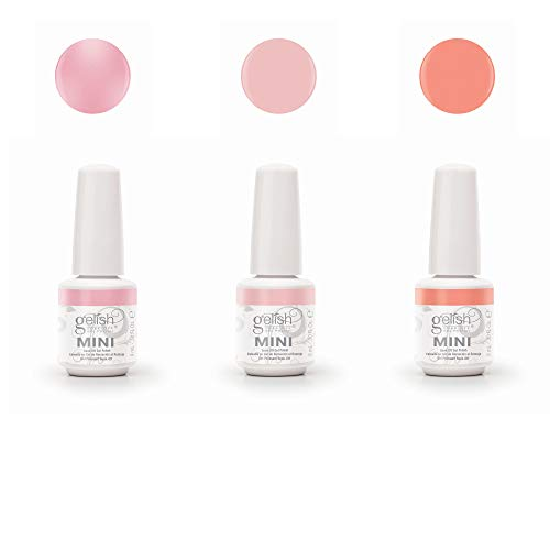 Gelish Mini The Color of Petals Spring Collection Soak off Gel Nail Polish Kit