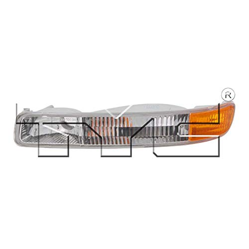 CarLights360: Fits 1999-2004 GMC Sierra 3500 Turn Signal/Parking Light/Side Marker Light Driver Side (Left) NSF Certified - Replacement for GM2520174 (Vehicle Trim: CLASSIC)