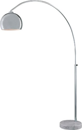 George Kovacs P053-077, George's Reading Room, Arc Floor Lamp, Chrome ()