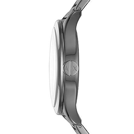 A X Men s Gunmetal Tone Stainless Steel Watch AX2330
