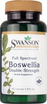 Double Capsules 60 Strength (Full Spectrum Boswellia Double Strength, 800 Milligram, 60 Caps (Pack of 2))