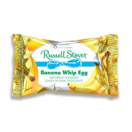 Russell Stover Dark Chocolate Banana Whip Egg, 1 oz.