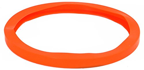 BEST VALUE VACS- 15.25 inch, Orange, Silicone Vacuum Chamber Gasket
