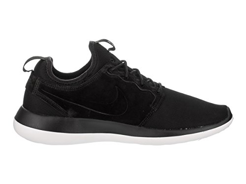 Nike Men's Running White Men US BR 12 Black Black Roshe Two Shoe URxwCndqU