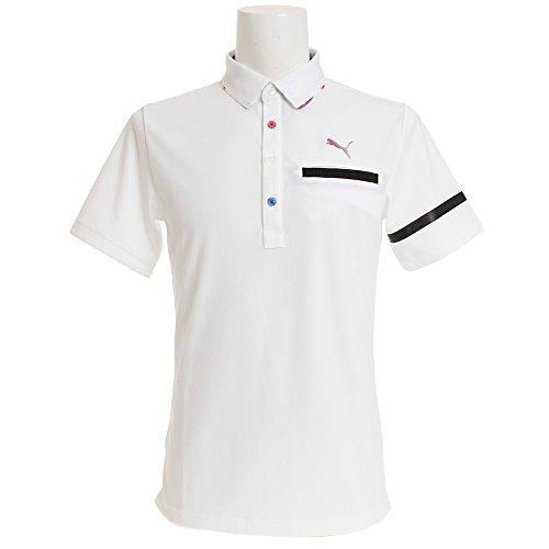 もう一度サービスガロン(プーマ) PUMA ゴルフ NITEポケットベントSSポロシャツ