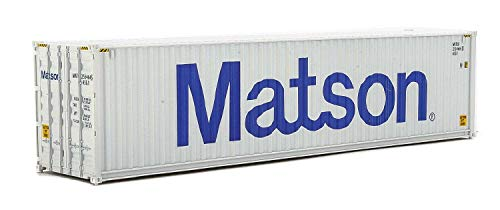 Walthers, Inc. Side Container with Assembled Matson, 40