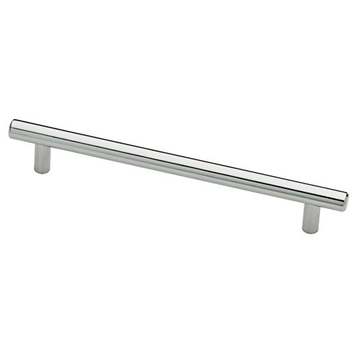 Liberty P01013-PC-C Kitchen Cabinet Hardware Drawer Handle Steel Bar Pull, 6-5/16