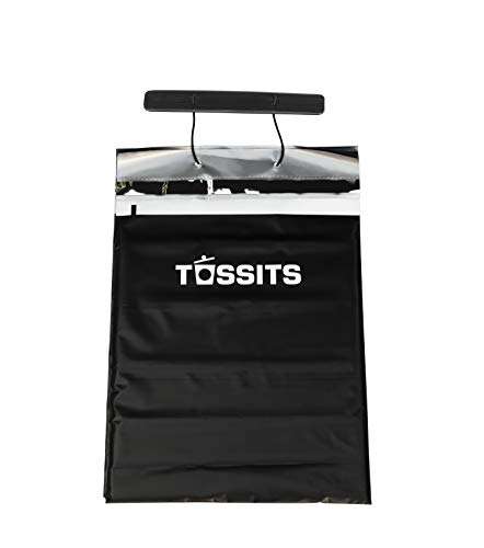 Tossits Disposable Car Garbage Bags (3 Sets of 10 Car Trash Bag) - Leakproof, Smellproof Car Garbage Can - Large Car Waste Bag - Car Trash Bag Can Hang from Headrest - New Trash Can for Car