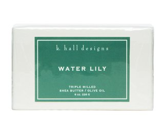 Water Lily Milled Shea Soap  8 Oz By K Hall Design