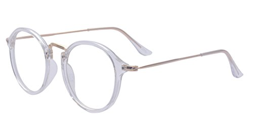 Outray Vintage Retro Round Clear Lens Glasses 2146c4 - Lens Glasses Clear Retro