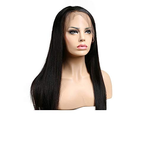 (Straight Wigs For Black Women Lace Front Human Hair Wigs Brazilian Remy Hair Lace Front Wig Pre,10inches,150%)