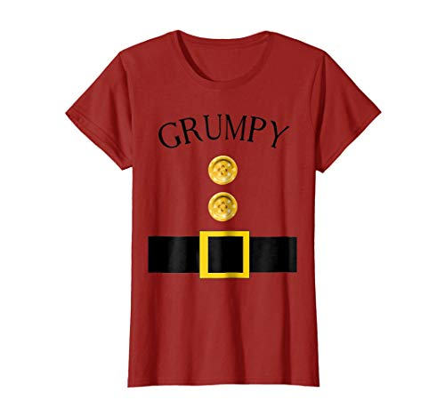 Cute Grumpy Halloween Group Costume T Shirt | Team Tees