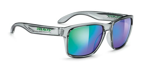 Rudy Project Spinhawk Crystal Ash Multilaser Green - Rudy Sunglasses
