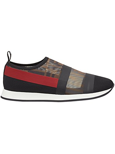 für Marke aus Fendi Damen der Sneakers Braune on 8E6714A2D3F1OTM Polyamid Slip PxYqqB8w