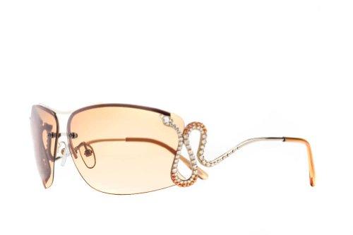 Jimmy Crystal New York Women's Serpent Sunglasses - Eyewear Crystal Swarovski
