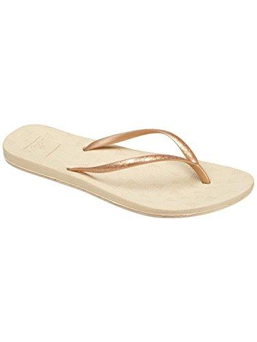 (Reef - Womens Escape Lux Print Sandals, Size: 8 B(M) US, Color: Champagne Tri)